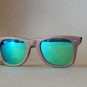 f4e06755abf Ray-Ban Accessories - Pink Chrome Ray Bans